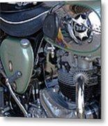 Bsa Motorcycle Metal Print