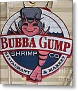 Bubba Gump Shrimp Co. Metal Print