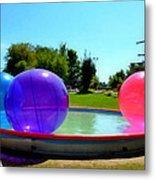 Bubble Ball 1  Metal Print