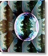 Bubble Illusion Catus 1 No 1 V Metal Print