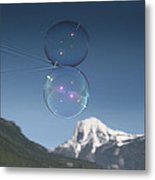 Bubble In The Purcell's Metal Print