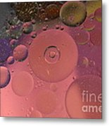 Bubble Inside Bubbles. Metal Print