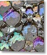 Bubble Pads Metal Print