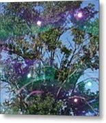 Bubble Tree Metal Print