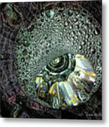 Bubble Trouble Metal Print