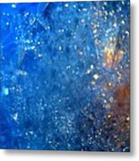Bubbles Metal Print