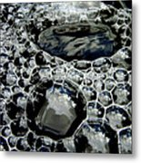 Bubblescape Metal Print