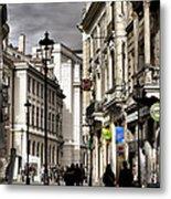 Bucharest The Little Paris Metal Print