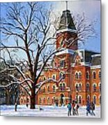 Buckeye Winter Metal Print