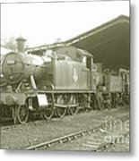 Buckfastleigh Shed Metal Print