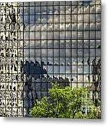 Buckhead Reflections Metal Print
