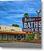 Buckhorn Baths Motel Metal Print