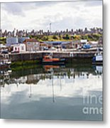 Buckie Harbour Metal Print