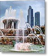 Buckingham Fountain #1 Metal Print