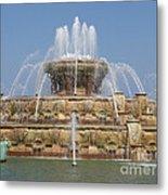 Buckingham Fountain - Chicago Metal Print