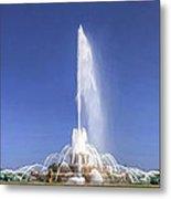 Buckingham Fountain Panorama Metal Print