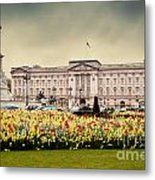 Buckingham Palace In London Uk Metal Print