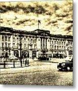 Buckingham Palace Vintage Metal Print