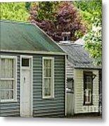 Buckingham Street Cottages Metal Print