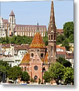 Buda Reformed Church In Budapest Metal Print