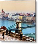 Budapest - Hungarian Pastels Metal Print