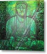 Budda's Garden Metal Print