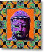 Buddha Abstract Window 20130130p85 Metal Print