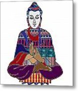 Buddha In Meditation Buddhism Master Teacher Spiritual Guru By Navinjoshi At Fineartamerica.com Metal Print
