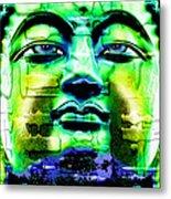 Buddha Metal Print by Daniel Janda