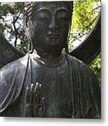 Buddha Detail Metal Print