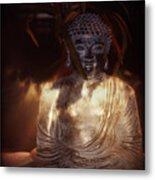 Buddha Metal Print by Eva Thomas