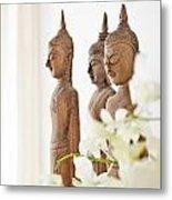 Buddha Figurine  Metal Print