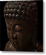 Buddha In The Dark Metal Print