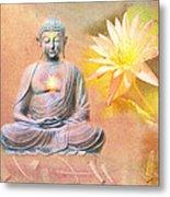 Buddha Of Compassion Metal Print