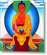 Buddha Of Infinite Light 39 Metal Print