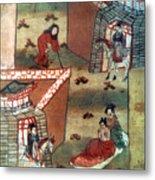 Buddha Prince Siddhartha Metal Print