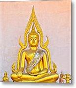 Buddha Statue Metal Print by Keerati Preechanugoon