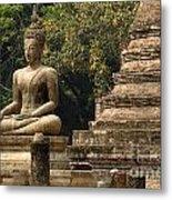 Buddha Sukhothai Thailand 6 Metal Print
