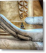 Buddha's Hand Metal Print by Adrian Evans
