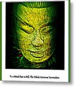 Buddhas Mind II Metal Print