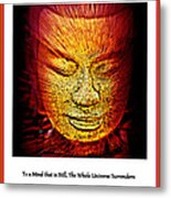 Buddhas Mind IIi Metal Print