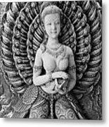 Buddhist Carving 02 Metal Print