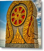 Buddhist Icon Metal Print by Adrian Evans