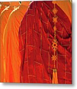Buddhist Monks Metal Print by Rick Piper Photography