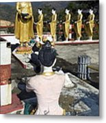 Buddist Shrine Metal Print