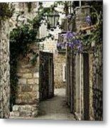 Budva Old Town Street Montenegro Metal Print