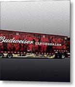 Budweiser Metal Print