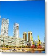 Buenos Aires Waterfront Metal Print