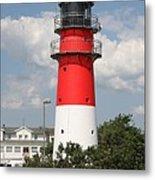 Buesum Lighthouse - North Sea - Germany Metal Print
