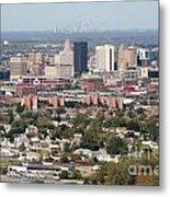 Buffalo And Niagara Falls Skylines Metal Print